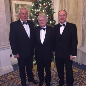 NRF Honorary Fellows Ken Belshaw L) Don Keating (M) and Frank Collins (R)