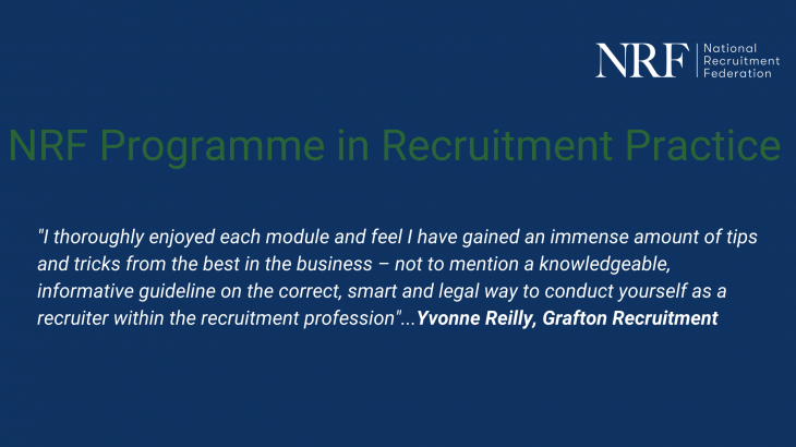 NRF Programme in Recruitment Practice Limerick